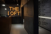 The Loft Hotel reception